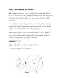 Dạng 4: Chứng minh tam giác đồng dạng