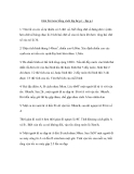 Giải bài toán bằng cách lập hệ p.t - lập p.t