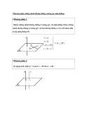 Phương pháp chứng minh đường thẳng vuông góc mặt phẳng