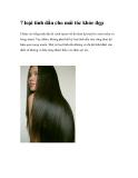 7 loại tinh dầu cho mái tóc khỏe đẹp