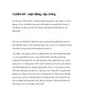 Goldwell - một đẳng cấp riêng
