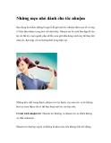 Những mẹo nhỏ dành cho tóc nhuộm