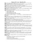 sinh học-bài tập về ADN