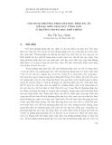 VẬN DỤNG PHƯƠNG PHÁP DẠY HỌC THEO DỰ ÁN ĐỂ DẠY MÔN GIÁO DỤC CÔNG DÂN Ở TRƯỜNG TRUNG HỌC PHỔ THÔNG
