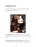 10 thắc mắc về tóc