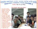 Báo cáo thuyết trình: Đường Lối Đảng Cộng Sản Việt Nam_Tổng khởi nghĩa tháng 8 năm 1945