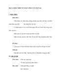 Bài 14: KHÁI NIỆM VỀ SOẠN THẢO VĂN BẢN (tt)
