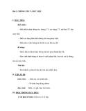 Bài 2: THÔNG TIN VÀ DỮ LIỆU