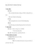 Bài 4: BÀI TOÁN VÀ THUẬT TOÁN (tt)
