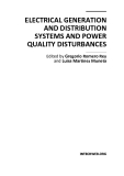 Electrical Generation and Distribution Systems and Power Quality Disturbances Part 1