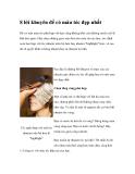 8 lời khuyên để có màu tóc đẹp nhất