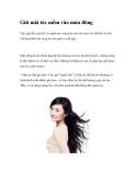 Giữ mái tóc mềm vào mùa đông