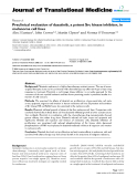 "báo cáo hóa học:""  Preclinical evaluation of dasatinib, a potent Src kinase inhibitor, in melanoma cell lines"""
