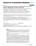 """báo cáo hóa học:""""  Discovery and implementation of transcriptional biomarkers of synthetic LXR agonists in peripheral blood cells"""""""