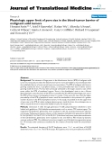 "báo cáo hóa học:""  Physiologic upper limit of pore size in the blood-tumor barrier of malignant solid tumors"""