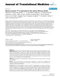 "báo cáo hóa học:""  Sperm protein 17 is expressed in the sperm fibrous sheath"""