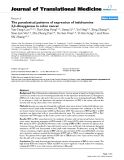 """báo cáo hóa học:""""  The paradoxical patterns of expression of indoleamine 2,3-dioxygenase in colon cancer"""""""