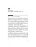 AQUATIC EFFECTS OF ACIDIC DEPOSITION - CHAPTER 10