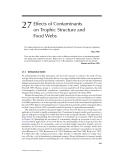 ECOTOXICOLOGY: A Comprehensive Treatment - Chapter 27