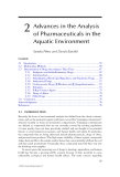 Fate of Pharmaceuticals in the Environment and in Water Treatment Systems - Chapter 2
