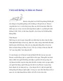 Cách nuôi dưỡng và chăm sóc Bonsai
