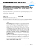 """báo cáo sinh học:"""" Employment and sociodemographic characteristics: a study of increasing precarity in the health districts of Belo Horizonte, Brazil"""""""