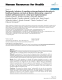 """báo cáo sinh học:""""  Systematic inclusion of mandatory interprofessional education in health professions curricula at Gunma University: a report of student self-assessment in a nine-year implementation"""""""