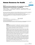 "báo cáo sinh học:"" Agreement between physicians and non-physician clinicians in starting antiretroviral therapy in rural Uganda"""