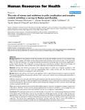 """báo cáo sinh học:"""" The role of nurses and midwives in polio eradication and measles control activities: a survey in Sudan and Zambia"""""""
