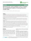 "báo cáo sinh học:""  Monitoring the newly qualified nurses in Sweden: the Longitudinal Analysis of Nursing Education (LANE) study"""
