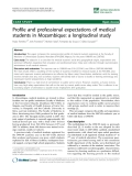 """báo cáo sinh học:""""  Profile and professional expectations of medical students in Mozambique: a longitudinal study"""""""