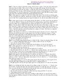 450 Bài tập Vật lý 10 phần Động học
