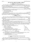 Bài tập tổng hợp ôn thi HKII Vật lý lớp 10