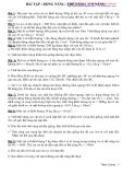 Bài tập: Động năng-Thế năng-Cơ năng