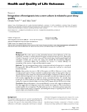 """báo cáo hóa học: """"   Integration of immigrants into a new culture is related to poor sleep quality"""""""
