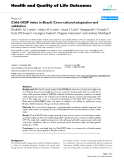 """báo cáo hóa học: """"  Child-OIDP index in Brazil: Cross-cultural adaptation and validation"""""""