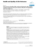 """báo cáo hóa học: """"  Improvement of quality of life, anxiety and depression after surgery in patients with stress urinary incontinence: Results of a longitudinal short-term follow-up"""""""