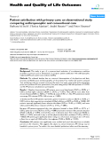 "báo cáo hóa học: ""   Patient satisfaction with primary care: an observational study comparing anthroposophic and conventional care"""