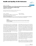 """báo cáo hóa học: """"  Understanding the role of discriminative instruments in HRQoL research: can Ferguson's Delta help?"""""""