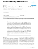 """báo cáo hóa học: """"  Validity and internal consistency of a Hausa version of the Ibadan knee/hip osteoarthritis outcome measure"""""""