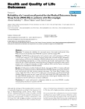"""báo cáo hóa học: """"  Reliability of a 1-week recall period for the Medical Outcomes Study Sleep Scale (MOS-SS) in patients with fibromyalgia"""""""