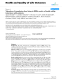 "báo cáo hóa học: ""  Valuation of transfusion-free living in MDS: results of health utility interviews with patients"""