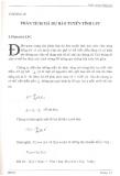 Chương 3 - Phân tích mã dự báo tuyến tính LPC