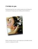 Cải thiện tóc gàu