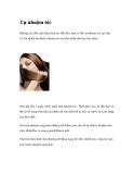 Tự nhuộm tóc