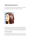 6 điều cần nhớ cho tóc hè