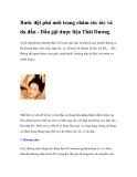 Bước đột phá mới trong chăm sóc tóc và da đầu