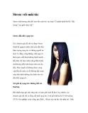 Stress với mái tóc