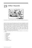 Industrial Safety and Health for Goods and Materials Services - Chapter 23