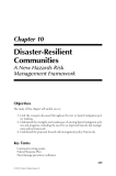 Natural Hazards Analysis - Chapter 10 (end)